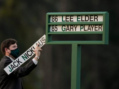 The Masters got under way on Thursday (David J. Phillip/AP)