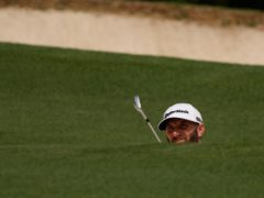 Defending champion Dustin Johnson carded an opening 74 in the 85th Masters (David J. Phillip/PA)