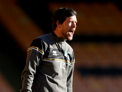 Darrell Clarke's Port Vale were looking to record a seventh successive win (Bradley Collyer/PA)