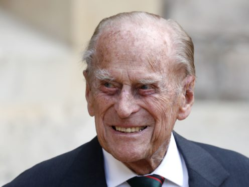 William and Harry paid tribute to their grandfather on a day of eulogies to the Duke of Edinburgh (Adrian Dennis/PA)