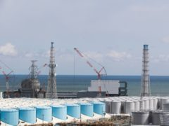 Japan's government has decided to start releasing massive amounts of treated radioactive water from the wrecked Fukushima nuclear plant into the Pacific Ocean in two years Hiro Komae/AP)