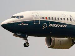 A Boeing 737 Max jet (Elaine Thompson/AP)