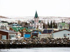 Husavik in Iceland (Brynjar Gunnarsson/AP)