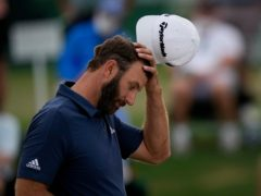 Defending champion Dustin Johnson missed the cut in the 85th Masters (Matt Slocum/AP)