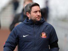 Lee Johnson's Sunderland were beaten by Wigan (Richard Sellers/PA)