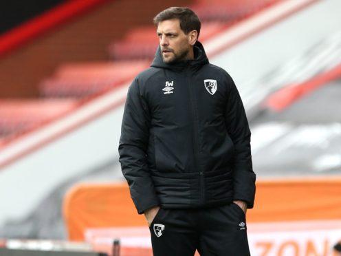 Bournemouth manager Jonathan Woodgate (Steven Paston/PA)