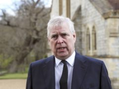 The Duke of York during a television interview at the Royal Chapel of All Saints, Windsor (Steve Parsons/PA)