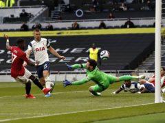 Fred (left) scored against Tottenham to end his barren spell (Adrian Dennis/PA)