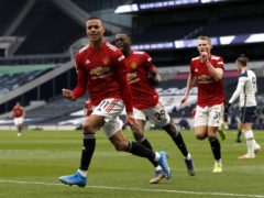 Mason Greenwood wrapped up a 3-1 win for Manchester United at Tottenham (Adrian Dennis/PA)