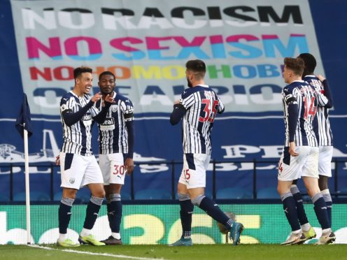 West Brom kept their slim Premier League survival hopes alive with victory against Southampton (Tim Goode/PA)