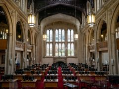 A view of the Old Library in Guildhall (Aaron Chown/PA)