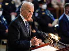 US President Joe Biden (J Scott Applewhite/Pool/AP)