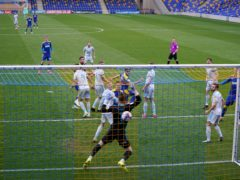 Will Nightingale scores against Ipswich (John Walton/PA)
