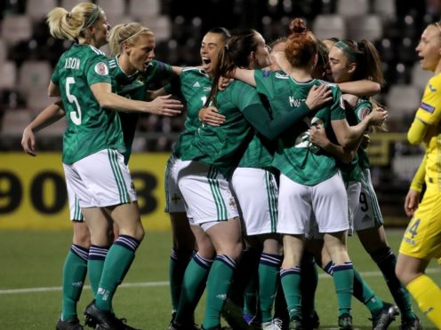 """Kenny Shiels called Northern Ireland's qualification for Women's Euro 2022 """"ridiculous"""" in its magnitude (Irish FA handout/PA)"""