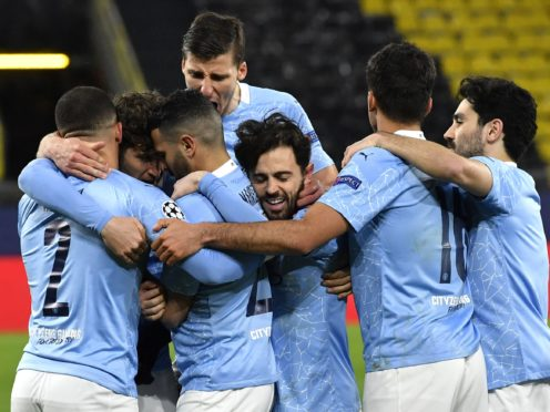 Manchester City's quadruple challenge continues in the FA Cup this weekend (PA Wire via DPA)