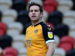 Matthew Dolan is an injury doubt for Newport (Simon Galloway/PA)