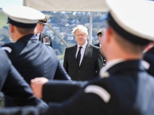 Prime Minister Boris Johnson (Finnbarr Webster/PA)