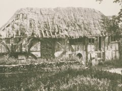 Alfriston Clergy House in 1894 (National Trust Images/PA)