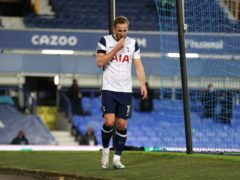 Harry Kane suffered an ankle injury during Tottenham's 2-2 draw at Everton last week (Clive Brunskill/PA)