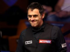 """Ronnie O'Sullivan has revealed he was accosted by a """"drunk"""" fan prior to resuming his Crucible campaign on Saturday (George Wood/PA)"""