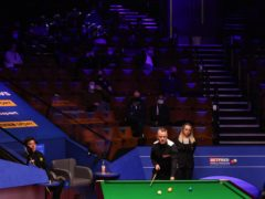 Fans returned to the World Snooker Championships on Saturday as a series of pilot events got under way (George Wood/PA)