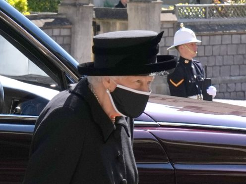Mourning will continue for royal family this week after Philip's funeral (Jonathan Brady/PA)