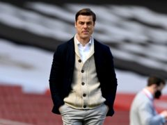"""Scott Parker admitted he has been keeping his """"fingers crossed"""" that goalscoring chances will fall in favour of Fulham (Facundo Arrizabalaga/PA)"""