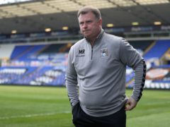 Mark Robins' Coventry saw off Barnsley (Bradley Collyer/PA)