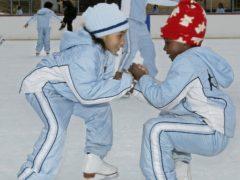 Members of Figure Skating in Harlem in 2004 (Ed Bailey/AP)