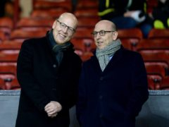 Manchester United joint chairmen Joel Glazer (right) and Avram Glazer (Martin Rickett/PA)