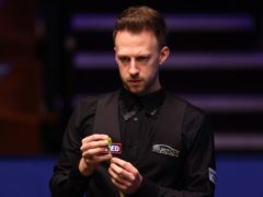 Judd Trump roared back into action at the Crucible (George Wood/PA)