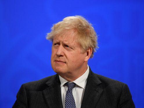 Boris Johnson (Toby Melville/PA)