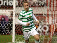 Leigh Griffiths equalised against Aberdeen (Jane Barlow/PA)