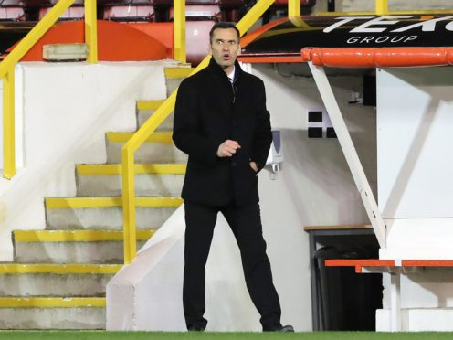 Aberdeen focused on cup says manager Stephen Glass (Jane Barlow/PA)