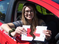 Learner drivers who passed when tests resumed on Thursday expressed relief at avoiding the need to wait several months for another opportunity (Andrew Matthews/PA)