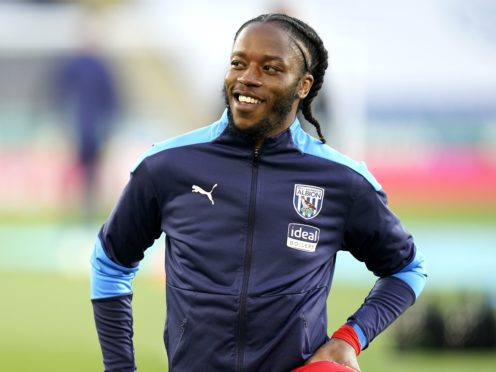 West Bromwich Albion's Romaine Sawyers warming up prior to kick-off during the Premier League match at the King Power Stadium, Leicester (Tim Keeton/PA)