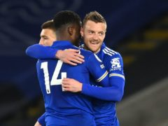 Jamie Vardy ended his goal drought against West Brom (Michael Regan/PA)