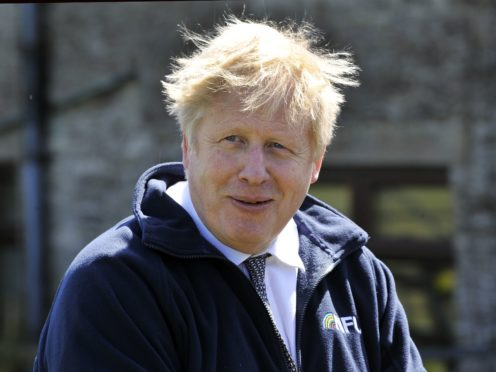 Prime Minister Boris Johnson (Rui Vieira/PA)