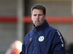 Forest Green interim manager Jimmy Ball is expected to name an unchanged squad (Gareth Fuller/PA)