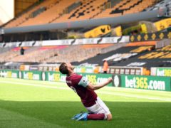 Chris Wood slides into our top attacking ranking after his hat-trick against Wolves (Oli Scarff/PA)