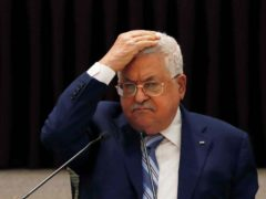Palestinian President Mahmoud Abbas (Mohamad Torokman/Pool Photo via AP)