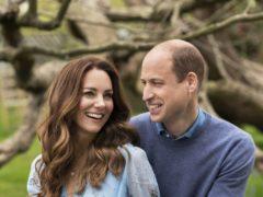 The Duke and Duchess of Cambridge at Kensington Palace (Chris Floyd/Camera Press)