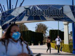 Disneyland Park and Disney California Adventure park reopened to visitors on Friday (Jae C. Hong/AP)