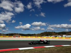 Lewis Hamilton finished fastest in second practice (Manu Fernandez/AP)