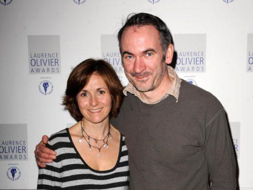 Paul Ritter and Amanda Root (Zak Hussein/PA)