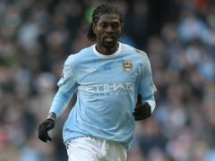 Emmanuel Adebayor announced his retirement from international football in the wake of the attack on the Togo team during the African Nations Cup earlier that year (Martin Rickett/PA)