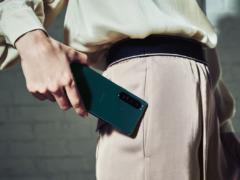 The new Sony Xperia 5 III smartphone (Sony/PA)