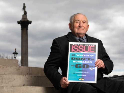 Lord John Bird founded the Big Issue nearly 30 years ago (Big Issue/PA)