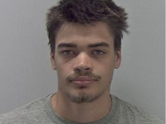 Moses Christensen, who has been jailed for life (West Mercia Police)