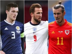 Andrew Robertson, Harry Kane and Gareth Bale could miss the Euros (PA)